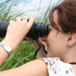 birdwatcher woman 150x150 The Right Pair Of Binoculars For Bird Watching